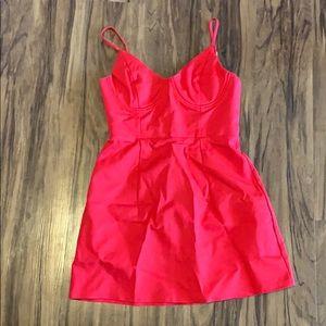 BRAND NEW PRINCESS POLLY RED DRESS